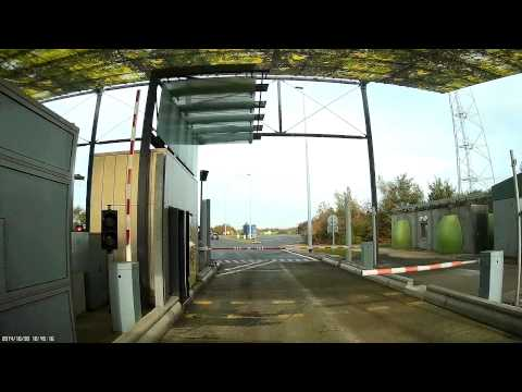 MOTORWAY TOLL BOOTHS FRANCE