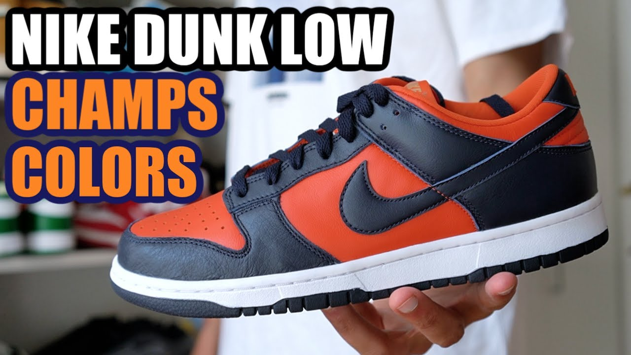 NIKE DUNK LOW CHAMPS COLORS REVIEW + SIZING & RESELL PREDICTIONS...BEST QUALITY DUNK THIS YEAR?