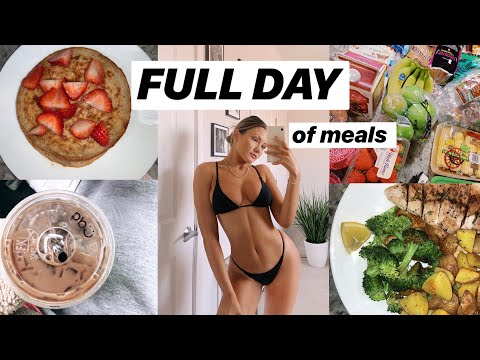 what i eat in a day for lean muscle! (how i stay fit)