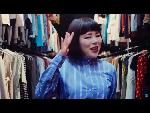 [일본광고]블루종 치에미 브랑디아광고