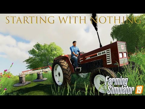 Getting First Tractor! ★ Farming Simulator 2019 Timelapse ★ Old Streams Farm ★ Episode 1