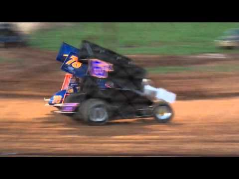 305 Racesaver Sprint Car Heat Path Valley Speedway 4-23-16