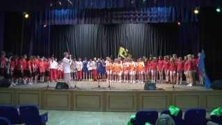Конкурс в области искусств. Международные Детские Игры(Сюжет студии молодёжного телевидения