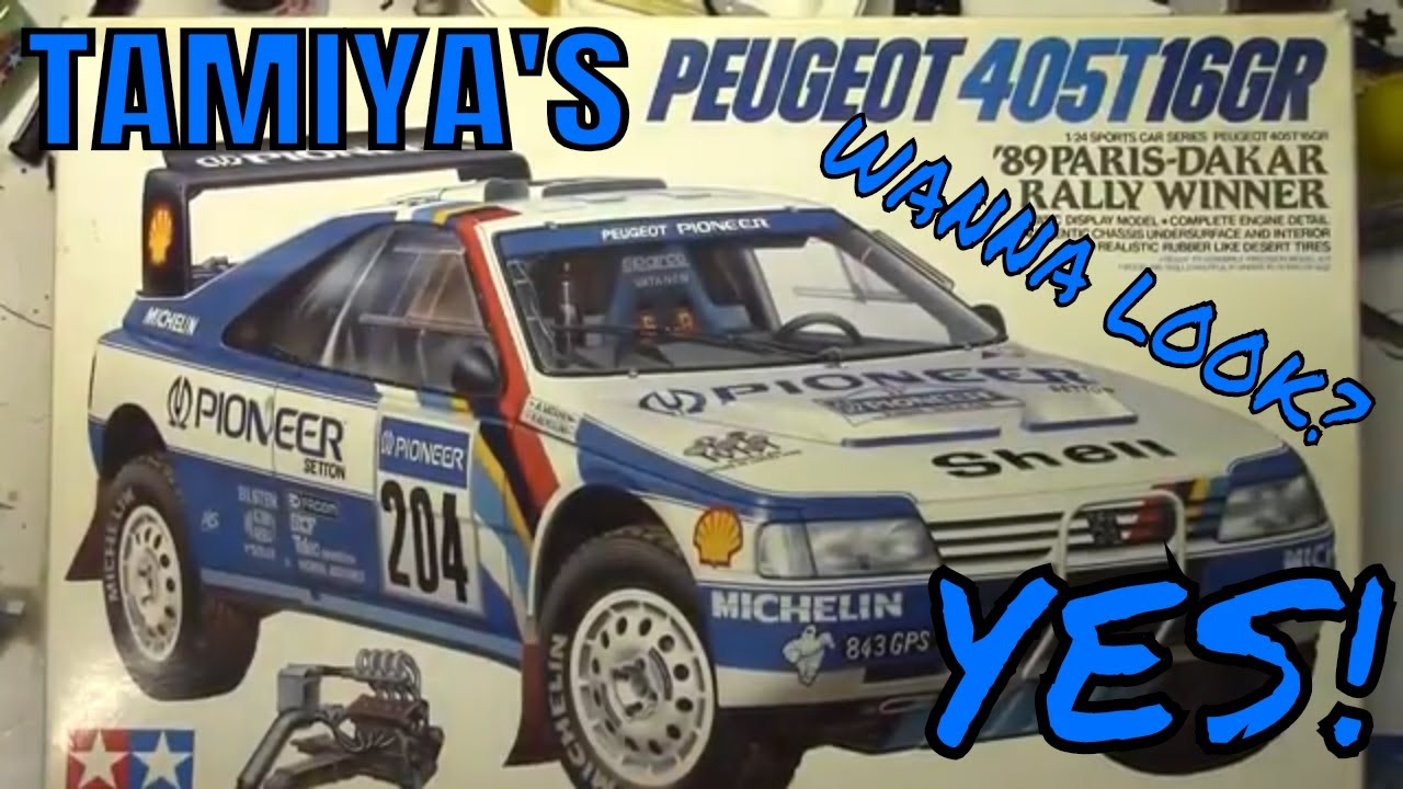 Luka's Kits #17 Tamiya's 1 24 Peugeot 405T Rally Race Car
