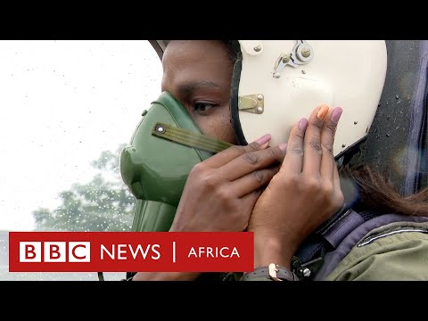 Angeline Bosha: 'I'm Zimbabwe's first female jet fighter pilot' - BBC Africa