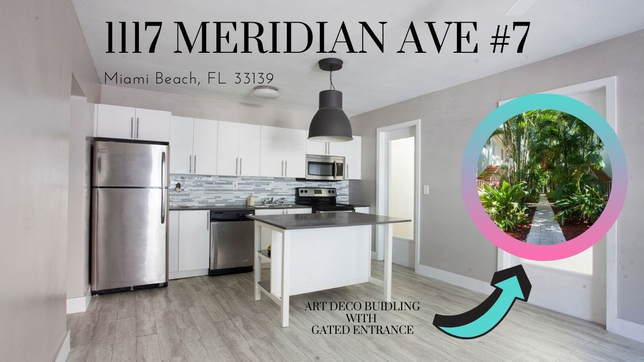 1 Bedroom Blocks Away From The Beach! - 1117 Meridian Ave #7
