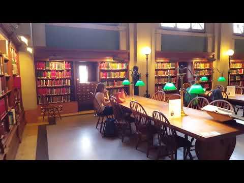 Boston Public Library 4K