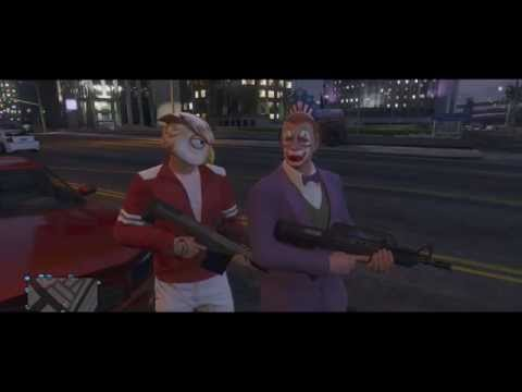 GTA 5 Online Funny Moments - Worst Batman, 1st Person Glitch, Frozen Cop, Shaking Animation