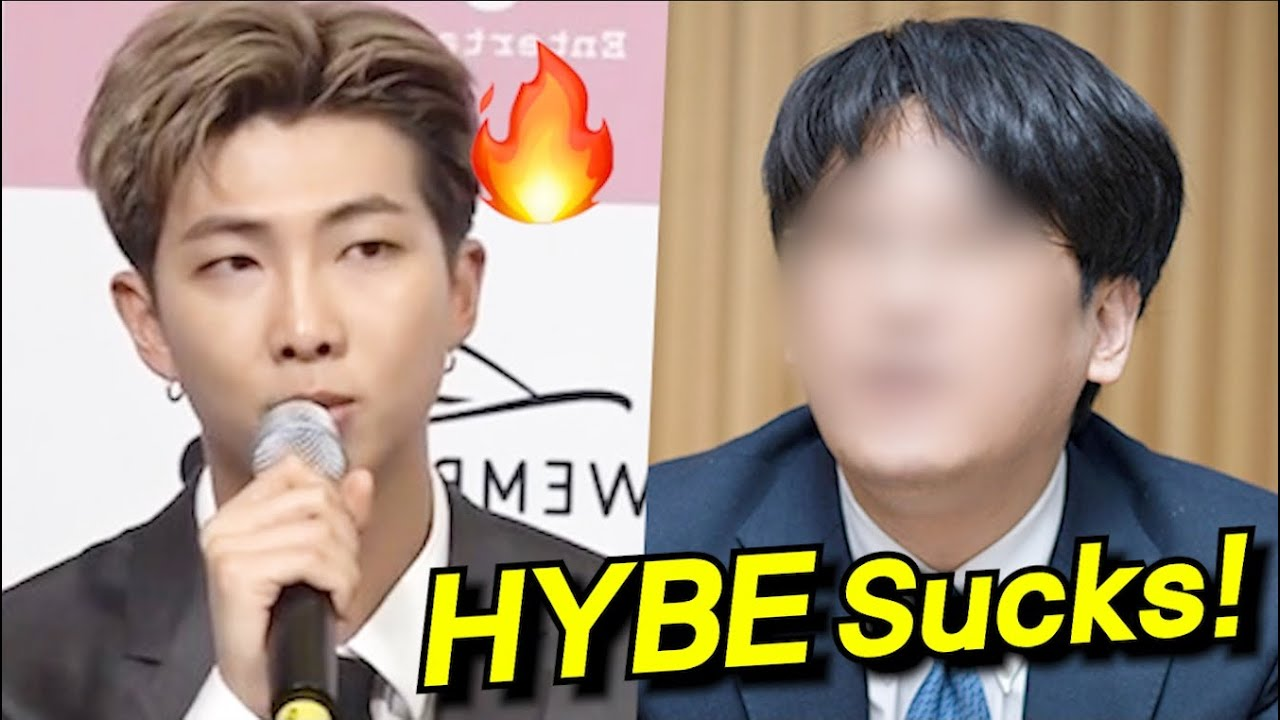 How BTS RM Responds to HYBE Stockholders who Absurdly Blame Bighit?