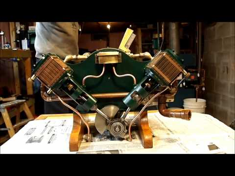 Al Berry's V2 Simple Marine Steam Engine