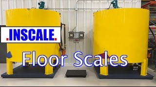 Floor Scales - Industrial Floor Scales - 10k's - 20k's
