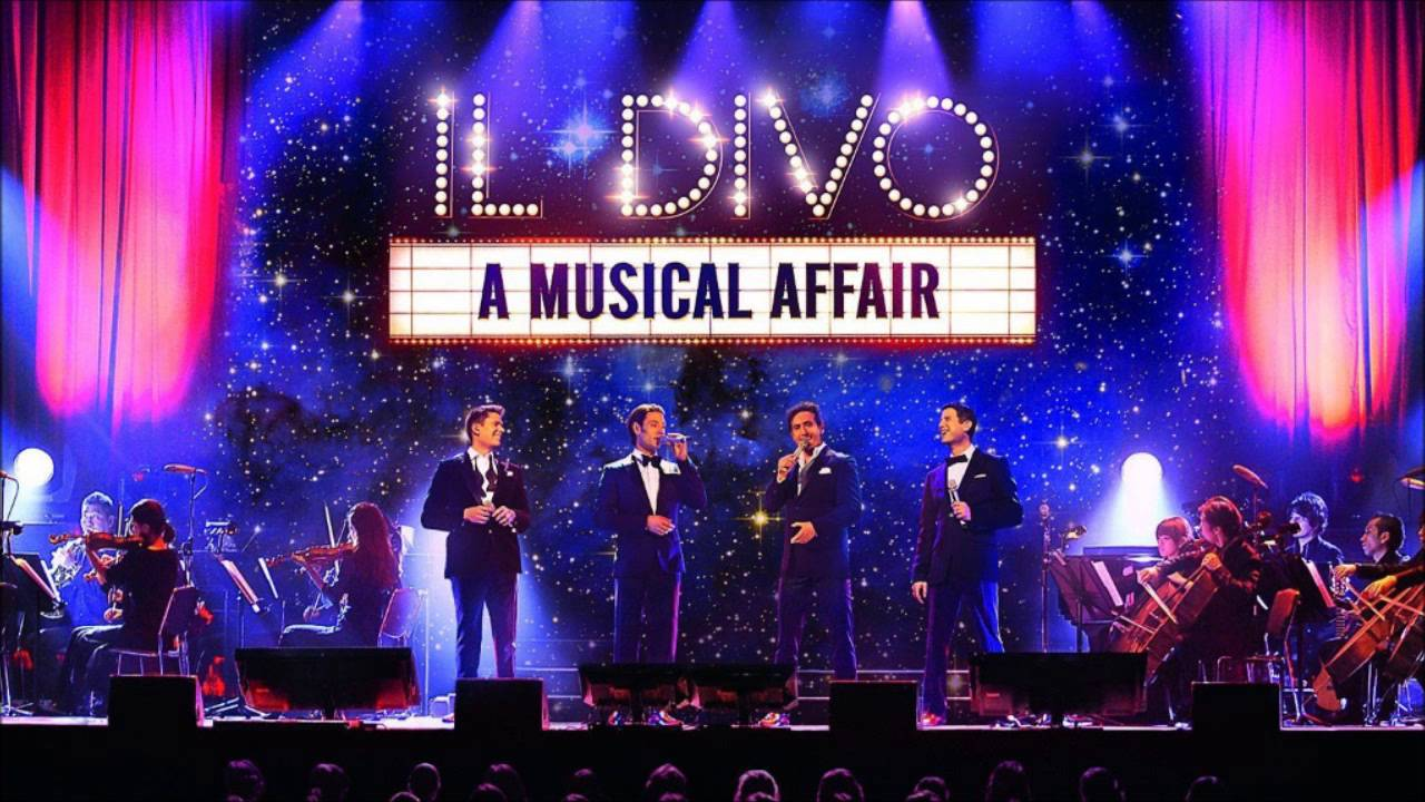 Live love changes everything il divo live in japan - Il divo man you love ...