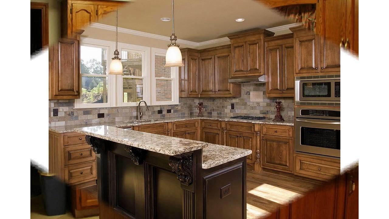 Idées de comptoir en granit de cuisine