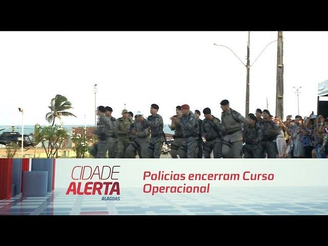 Policias encerram Curso Operacional de Rotam com formatura