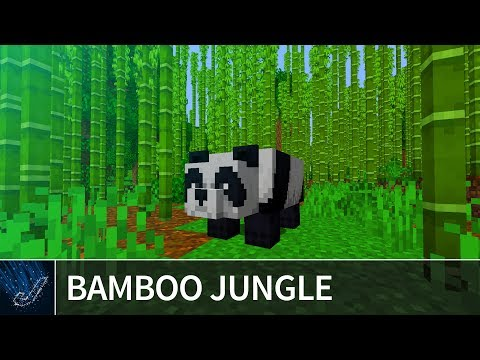Minecraft 1 14 Bamboo Jungle Seed – The first ever bamboo forest