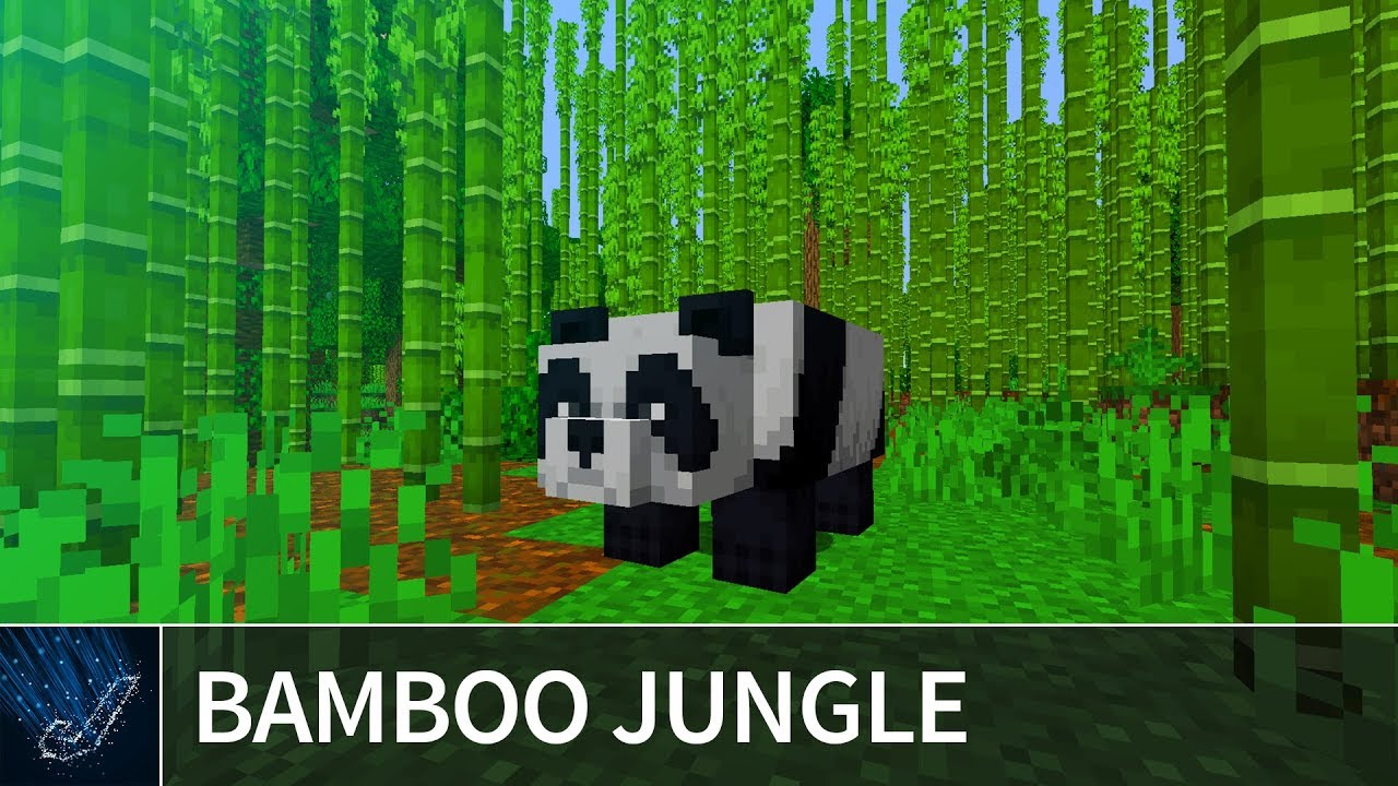 Minecraft 1 14 Bamboo Jungle Seed – The first ever bamboo