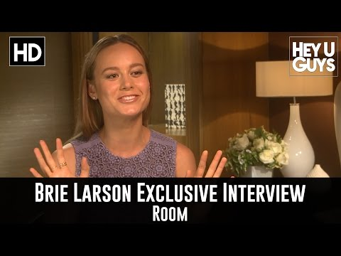 Brie Larson Exclusive Interview - Room