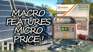 HOT DEAL On A Micro SOLAR GENERATOR! Jackery Explorer 160 Portable Power Station Review