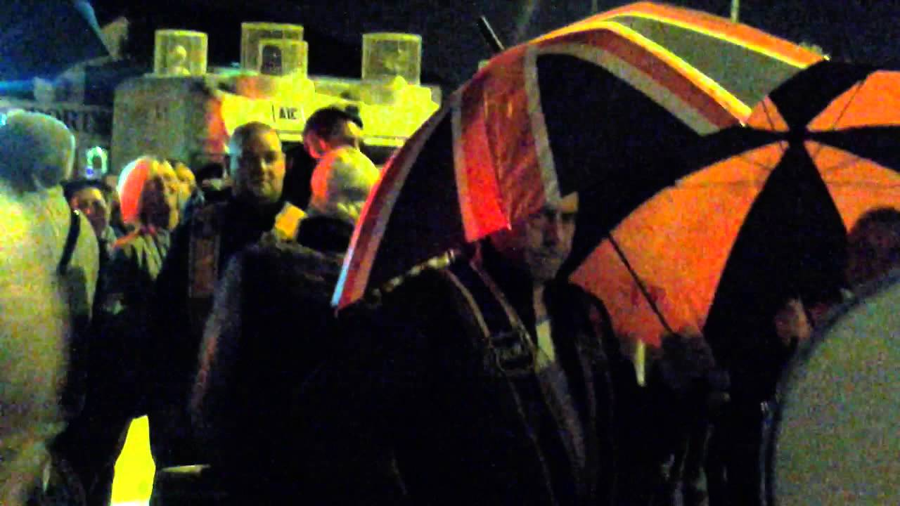 DAY 85 ORANGE ORDER ATTEMPT TO WALK HOME ARDOYNE ROUNDABOUT 4TH 10TH