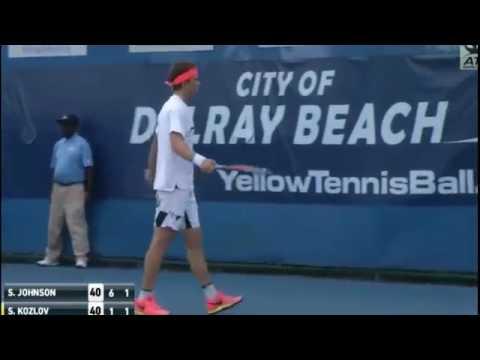 Kozlov Vs Johnson Highlights Delray Beach Open 2017