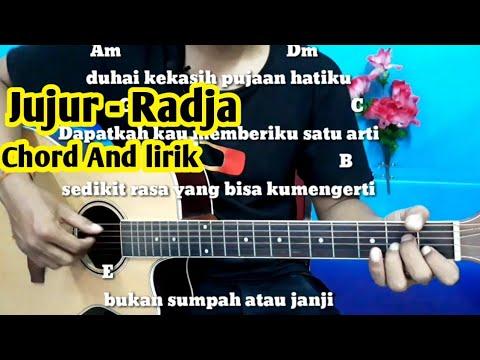 Kunci Gitar Radja Jujur - Tutorial Gitar By Darmawan Gitar