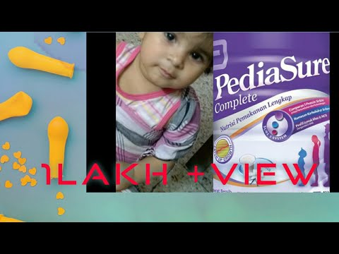 PEDIASURE BEST REVIEW-SATISFACTORY EXPERIENCE WITH PEDIASURE