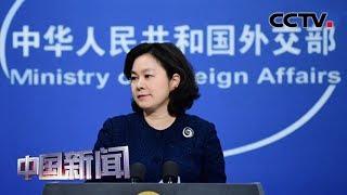 [中国新闻] 中国外交部回应蓬佩奥称美抗疫国际援助远超中国 | 新冠肺炎疫情报道