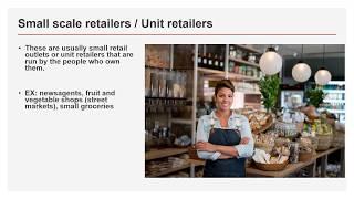 Type of retailers :IGCSE/ GCSE/ O Levels / Commerce/ Retail Trade
