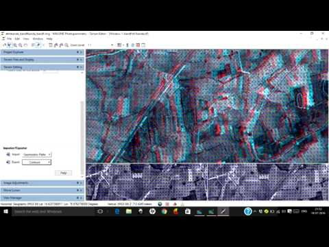Extract DEM, DTM from Stereo Pair Images Using Imagine Photogrammetry (LPS)