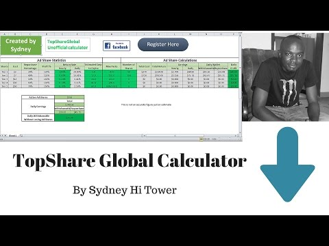 Top Share Global Calculator review with Sydney Hi Tower