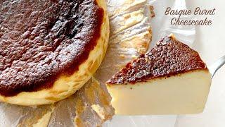 [No오븐 홈베이킹] 에어프라이어 바스크 치즈케이크 만…