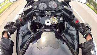 Top speed 290kmh Kawasaki ZX11