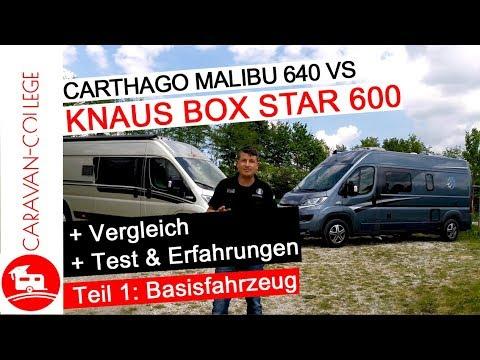 Carthago Malibu 640 vs. Knaus Box Star 600 - Teil 1: Basisfahrzeug Fiat Ducato