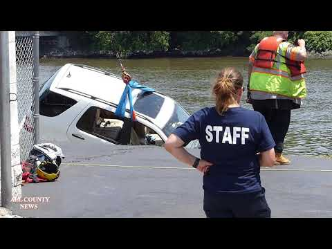 Honey German - Woman Leaving Car Wash Plunges Straight Into River
