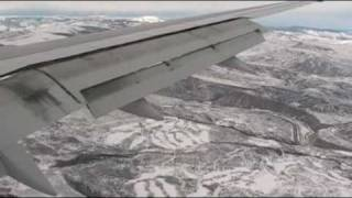 Landing at Eagle County Airport (EGE) in Colorado Rockies