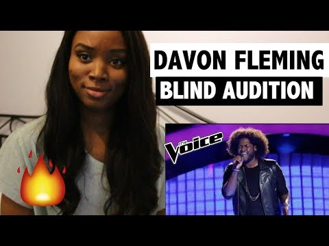 The Voice 2017 Blind Audition  Davon Fleming: Me and Mr Jones  REACTION!