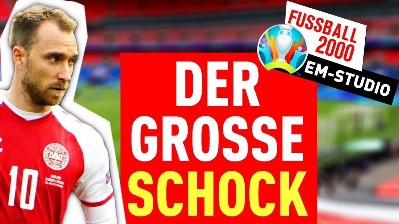 Die UEFA und der Schock um Christian Eriksen | EM-Studio