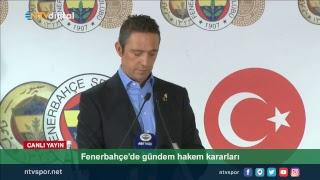 CANLI | Fenerbahçe Başkanı Ali Koç basın toplantısı düzenliyor