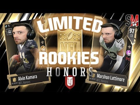 CLUTCH LIMITED PULL! NFL Honors Limited Rookies - Madden NFL 18 Pack Opening!