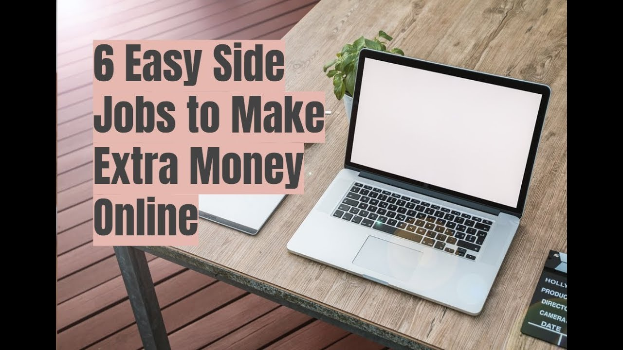 6 Easy Side Jobs to Make Extra Money Online - YouTube