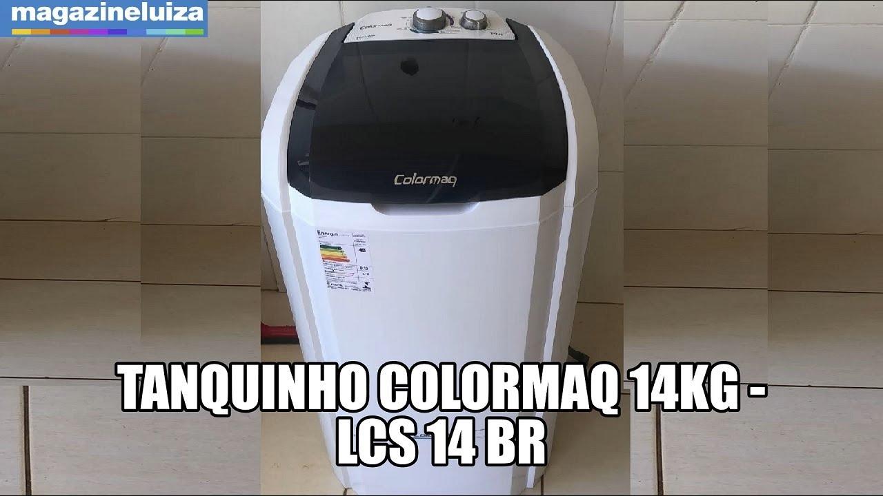 Tanquinho Colormaq 14Kg - LCS 14 BR - OFERTA ESPECIAL