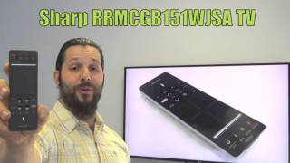 sharp rrmcgb151wjsa tv remote control www replacementremotes com