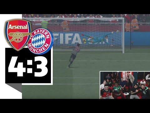 Bayern München verliert Elfer-Krimi gegen Arsenal London - BILD FIFA 17 Turnier