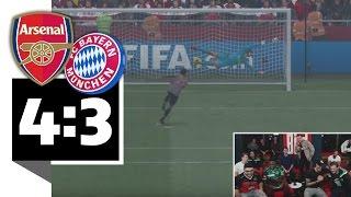 Bayern verliert Elfer-Krimi gegen Arsenal - BILD FIFA 17 Turnier