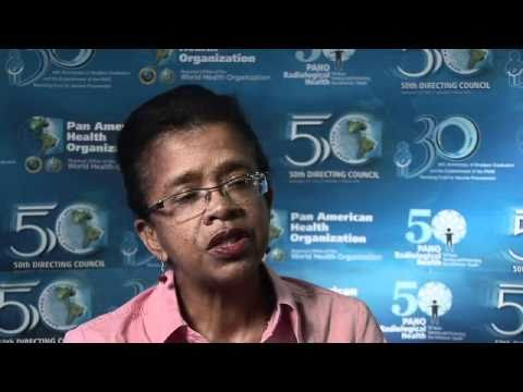 Dr. Marthelise Eersel, Director of Health of Suriname