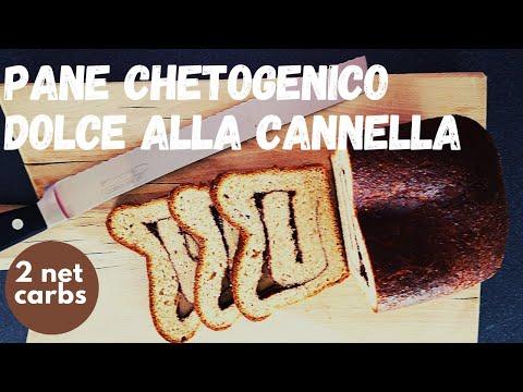 🥓🍓🥑-pane-chetogenico-dolce- -ricetta-pane-dolce-chetogenico-per-colazione- -alla-cannella