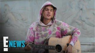 Justin Bieber Serenades Hailey Baldwin in London   E! News