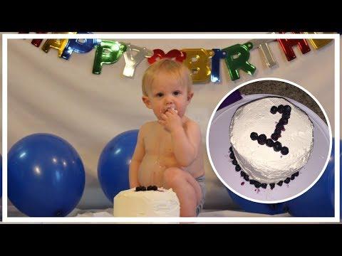 HEALTHY SUGAR FREE SMASH CAKE RECIPE | First Birthday