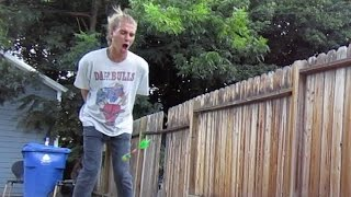 Nut Shot First Try! - Dudesons VLOG
