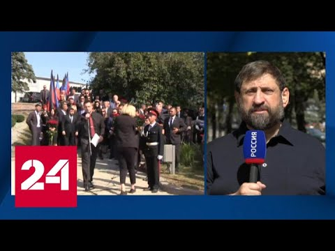 Донецк вспоминает главу ДНР Александра Захарченко - Россия 24